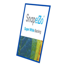 Load image into Gallery viewer, 17x38 Blue SnapeZo® Snap Frame - 1.2 Inch Profile