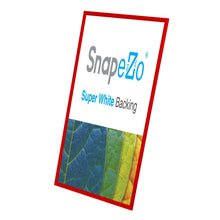 "Load image into Gallery viewer, 22x56 Red SnapeZo® Snap Frame - 1.2"" Profile"