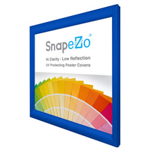 "Load image into Gallery viewer, 23x23 Blue SnapeZo® Snap Frame - 1.2"" Profile"