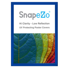 "Load image into Gallery viewer, A2 Blue SnapeZo® Snap Frame - 1.2"" Profile"