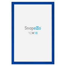 "Load image into Gallery viewer, 20x30 Blue SnapeZo® Snap Frame - 1.2"" Profile"