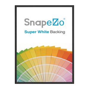 Black SnapeZo® printable frame 11X17 - super-slim