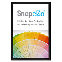 "Load image into Gallery viewer, 20x29 Black SnapeZo® Snap Frame - 1.2"" Profile"