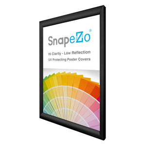 "20x29 Black SnapeZo® Snap Frame - 1.2"" Profile"