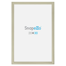 "Load image into Gallery viewer, 20x30 Cream SnapeZo® Snap Frame - 1.2"" Profile"