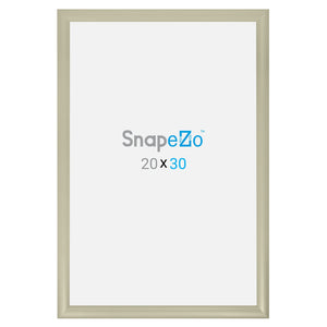 "20x30 Cream SnapeZo® Snap Frame - 1.2"" Profile"