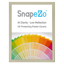 Load image into Gallery viewer, 18x24 Cream SnapeZo® Snap Frame - 1.2 Inch Profile