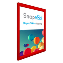 "Load image into Gallery viewer, 20x30 Red SnapeZo® Snap Frame - 1.2"" Profile"