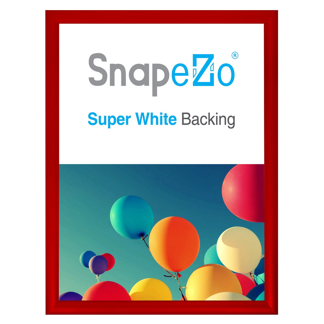 16x20 Red SnapeZo® Snap Frame - 1.2 Inch Profile