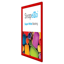 Load image into Gallery viewer, 16x20 Red SnapeZo® Snap Frame - 1.2 Inch Profile