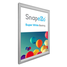 "Load image into Gallery viewer, A2 Silver SnapeZo® Snap Frame - 1.2"" Profile"
