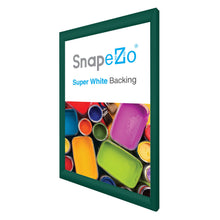"Load image into Gallery viewer, 20x30 Green SnapeZo® Snap Frame - 1.2"" Profile"