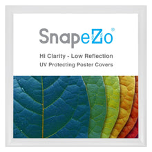 "Load image into Gallery viewer, 23x23 White SnapeZo® Snap Frame - 1.2"" Profile"