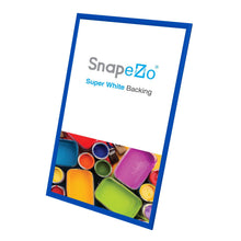 Load image into Gallery viewer, 19x36 Blue SnapeZo® Snap Frame - 1.2 Inch Profile