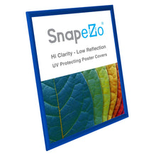 Load image into Gallery viewer, Blue SnapeZo® snap frame poster size 21x38 - 1 inch profile