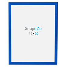 "Load image into Gallery viewer, 22x28 Blue SnapeZo® Snap Frame - 1.25"" Profile"