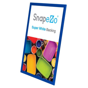 20x30 Blue SnapeZo® Snap Frame - 1.25 Inch Profile