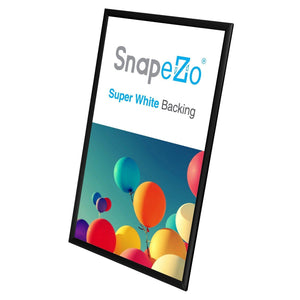 20x30 Black SnapeZo® Snap Frame - 1 Inch Profile