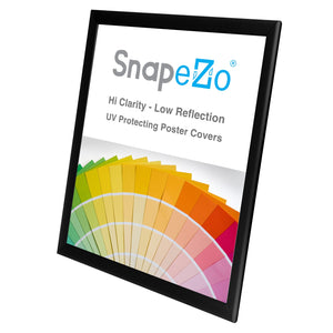 17x22 Black SnapeZo® Snap Frame - 1.25 Inch Profile