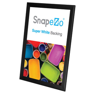 11x17 Black SnapeZo® Snap Frame - 1.7 Inch Profile