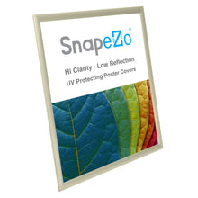 Load image into Gallery viewer, 18x24 Cream SnapeZo® Snap Frame - 1 Inch Profile