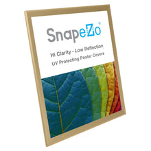 "Load image into Gallery viewer, 22x28 Gold SnapeZo® Snap Frame - 1.25"" Profile"