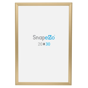 "20x30 Gold SnapeZo® Snap Frame - 1.25"" Profile"