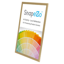 "Load image into Gallery viewer, 20x30 Gold SnapeZo® Snap Frame - 1.25"" Profile"