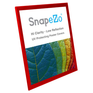 18x24 Red SnapeZo® Snap Frame - 1.25 Inch Profile