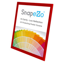 Load image into Gallery viewer, 18x24 Red SnapeZo® Snap Frame - 1.25 Inch Profile