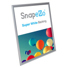 "Load image into Gallery viewer, 20x26 Silver SnapeZo® Snap Frame - 1"" Profile"