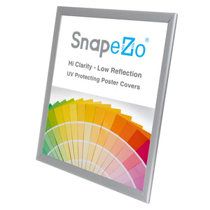 17x22 Silver SnapeZo® Snap Frame - 1.25 Inch Profile