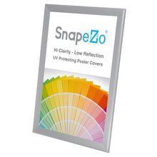 Load image into Gallery viewer, 11x17 Silver SnapeZo® Snap Frame - 1.7 Inch Profile