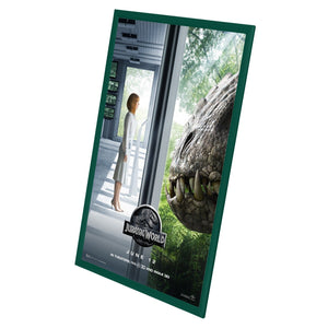 "24x36 Green SnapeZo® Snap Frame - 1"" Profile"