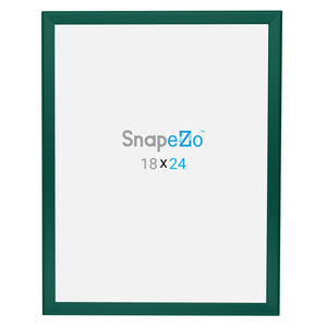 18x24 Green SnapeZo® Snap Frame - 1.25 Inch Profile