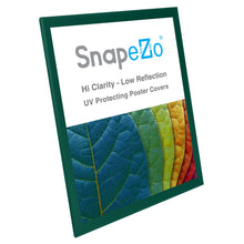 Load image into Gallery viewer, 18x24 Green SnapeZo® Snap Frame - 1.25 Inch Profile