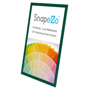 Green SnapeZo® snap frame poster size 20X30 - 1.25 inch profile