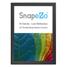 "Load image into Gallery viewer, 36x50 Black SnapeZo® Snap Frame - 1.7"" Profile"