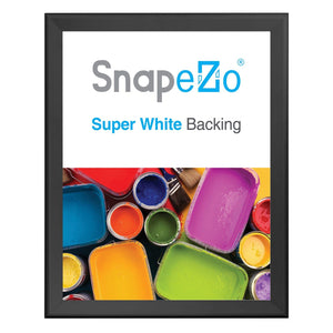 "24x30 Black SnapeZo® Snap Frame - 1.7"" Profile"