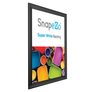 16x20 Black SnapeZo® Snap Frame - 1.7 Inch Profile