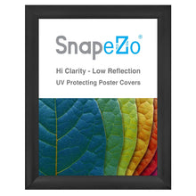 Load image into Gallery viewer, Black SnapeZo® snap frame poster size 30x40 - 2.2 inch profile
