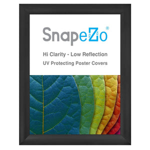 Black SnapeZo® snap frame poster size 30x40 - 2.2 inch profile