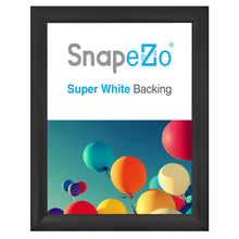"Load image into Gallery viewer, 36x48 Black SnapeZo® Snap Frame - 2.2"" Profile"