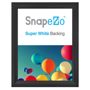 "36x48 Black SnapeZo® Snap Frame - 2.2"" Profile"