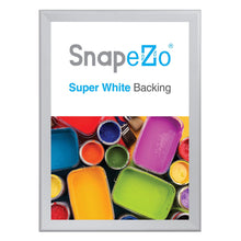 "Load image into Gallery viewer, 36x50 Silver SnapeZo® Snap Frame - 1.7"" Profile"