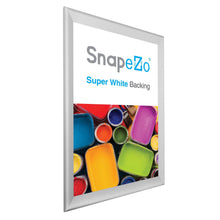 "Load image into Gallery viewer, 27x41 Silver SnapeZo® Snap Frame - 1.7"" Profile"