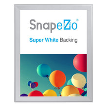 "Load image into Gallery viewer, 36x47 Silver SnapeZo® Snap Frame - 1.7"" Profile"