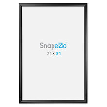 "Load image into Gallery viewer, 32x48 Black SnapeZo® Snap Frame - 1.2"" Profile"