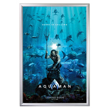 "Load image into Gallery viewer, 23x35 Silver SnapeZo® Snap Frame - 1.2"" Profile"