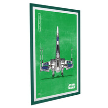 "Load image into Gallery viewer, 27x40 Green SnapeZo® Snap Frame - 1.2"" Profile"